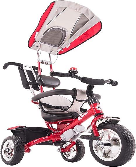 Kiddo - Bicicleta 4 en 1 para niños, Triciclo de 3 Ruedas, Color ...