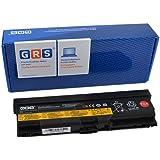 GRS Batería para Lenovo ThinkPad T420, T410, T410i, T510i, W510, W520, W530, L430, L420, L410, L412, L510, L512, L530, L520, L530i, T520, T520i Serie, ThinkPad Edge 14, 15,Laptop Battery 6600mAh, 10,8V