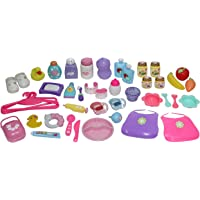 JC Toys, for Keeps! Deluxe Accessory Gift Set – 45 Pcs for Children 2+, Multicolor