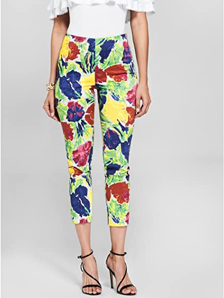 78598528aac3 Marciano Guess Women's Dolce Vita Floral-Print Pant: Amazon.ca: Clothing &  Accessories