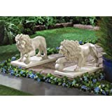 Guardian Lion Statue Pair Item #: 15158 -by# great_bargains1, #UGEIO94321642849282