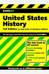 CliffsAP United States History Preparation Guide, 3rd Edition Paperback