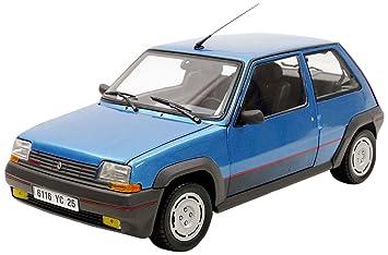 Norev 5 GT Turbo Fase 1 1986 Renault vehículo Miniature, 185207, Azul Metal, (Escala 1/18: Amazon.es: Juguetes y juegos