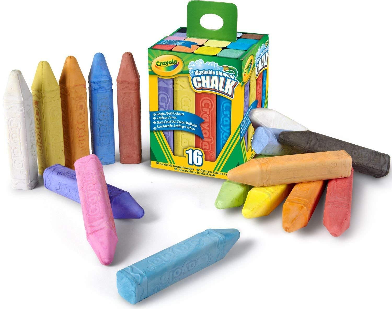 Crayola 64 Count Sidewalk Chalk by Crayola (Image #2)