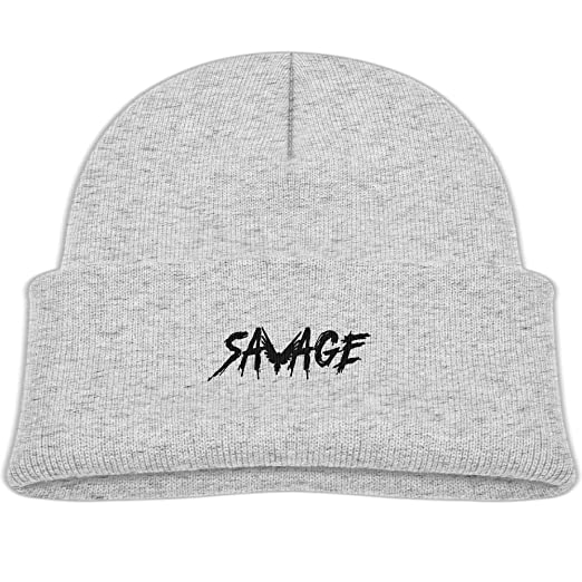 Amazon.com  Savage Maverick Logang Cotton Comfort Beanies Warm Fleece Lined  Hat for Boys   Girls  Clothing 903ed181101