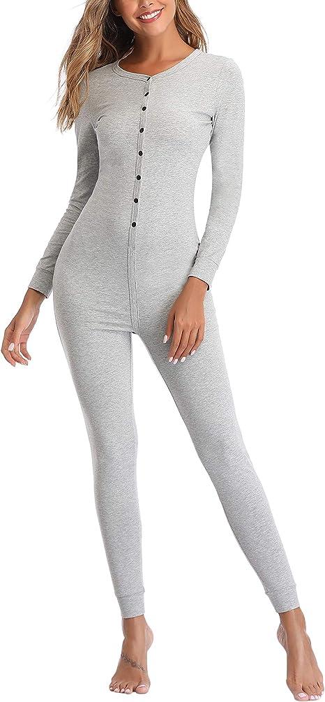 Amazon.com: Lusofie Henley - Mono térmico de algodón para ...