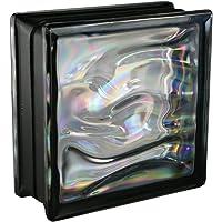 6 piezas BM bloques de vidrio AGUA perla
