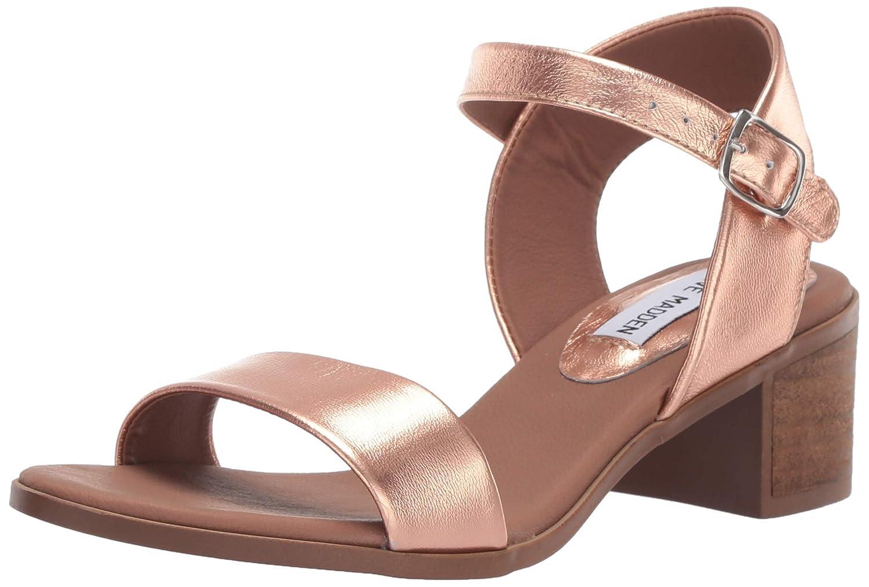 pink gold Steve Madden Women's April Heeled Sandal
