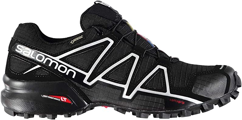Salomon Hombre Speedcross 4 GTX Zapatillas De Trail Running: Amazon.es: Zapatos y complementos