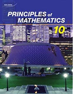 Principles of Mathematics 10: Student Text + Online PDF