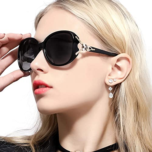 256941f6176 Amazon.com  FIMILU Classic Oversized Sunglasses for Women