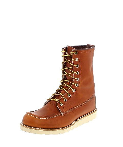 Red Wing Shoes 00877-1D - Botines Chukka de Cuero Hombre, Color Marrón, Talla 36 EU / 4.5 US: Amazon.es: Zapatos y complementos