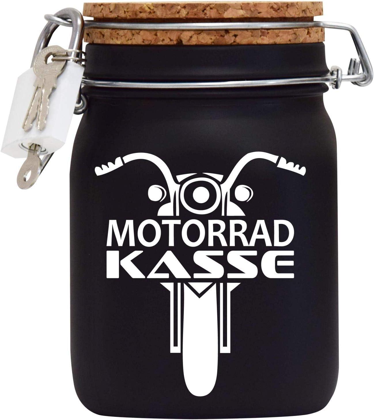 Spardose - Motorrad Design