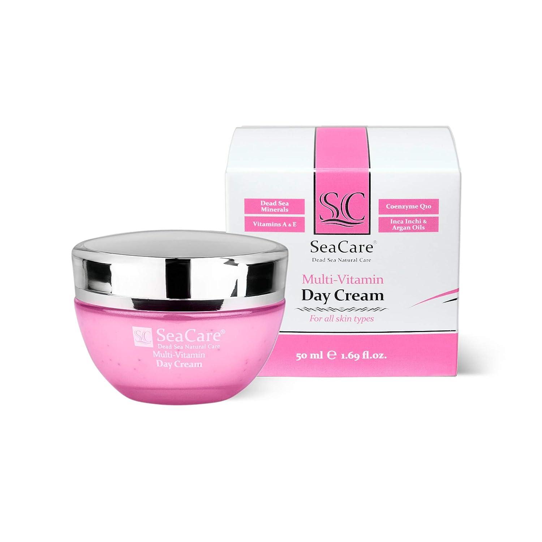 seacare día hidratante crema contiene encapsulado Coenzima Q10 y a & E Vitaminas que reduce las arrugas y rejuvenece la piel - 1,7 oz: Amazon.es: Belleza
