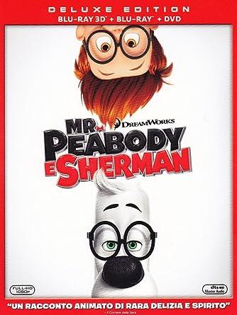 mr. peabody & sherman - deluxe edition (blu-ray 3d [Italia]