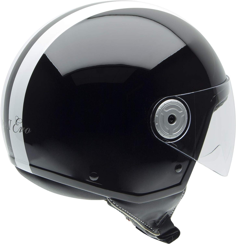 NZI 150251G284 Vintage II Pearl White Taglia XL Bianca Madreperla Casco da Moto