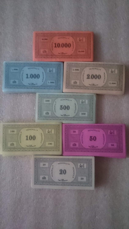 Hasbro Parker 08010100 - Dinero de Juguete para Monopoly [versión en inglés]: Amazon.es: Juguetes y juegos