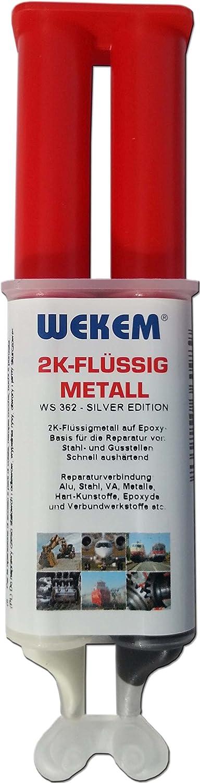 1 x 25 G wekem flüssigmetall kaltmetall metallkleber wS362