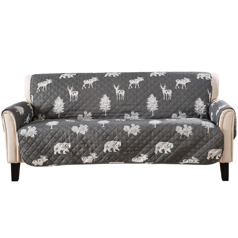Amazon.com: Protector de muebles reversible para sofá Saver ...