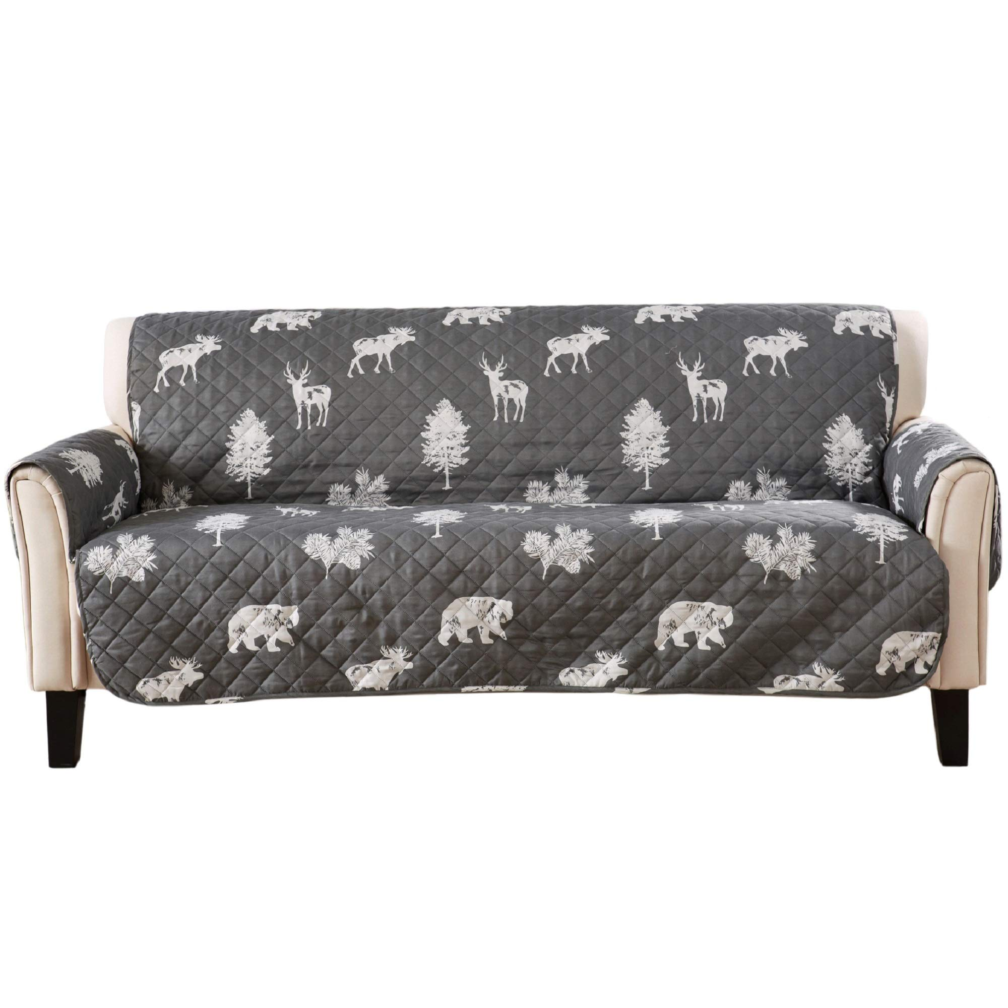 Reversible Stain Resistant Printed Furniture Protector