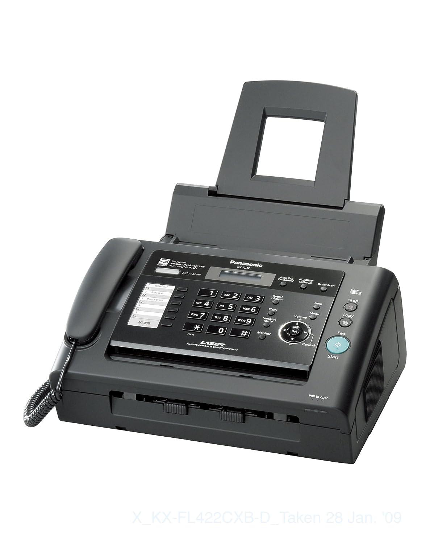 amazon com panasonic advanced fax communications with laser print