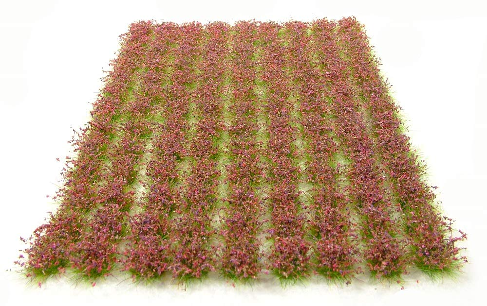 6mm Heather tufts x117 Static grass self-adhesive Warpainter