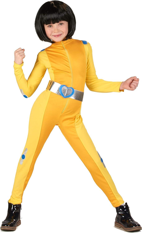 Vegaoo - Disfraz de espía Amarillo niña - XXL 13-14 años (153-158 ...