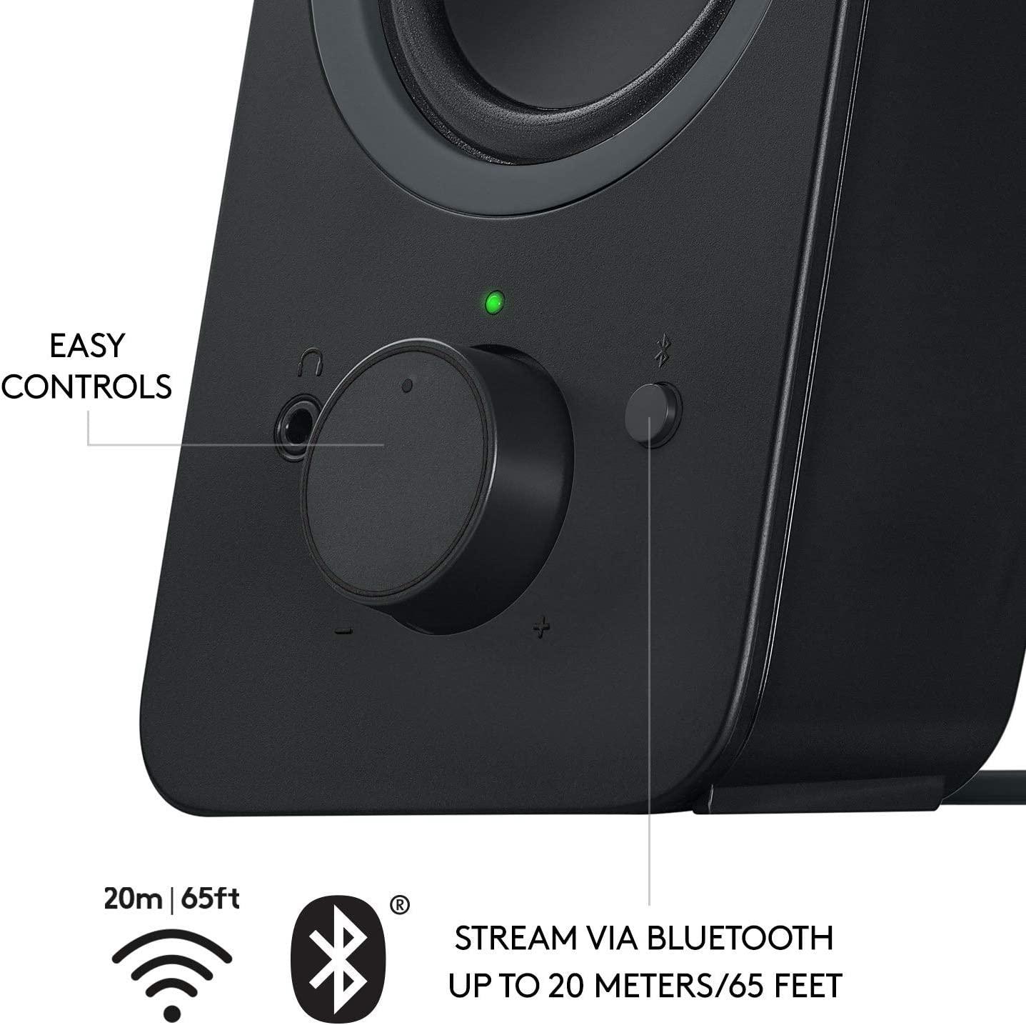 980-001294 Black Logitech Logitech Z207 2.0 Multi Device Stereo Speaker