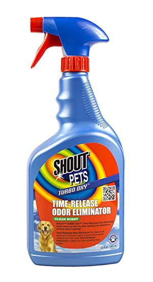 Shout Mascotas Turbo-oxy Time-Release eliminador de Olor 32 oz.: Amazon.es: Productos para mascotas