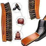 Horsehair Shoe Brush Set Multifunctional Shoe