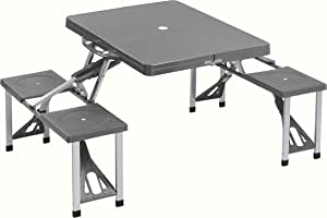 Cao Collapsible Camping Table with 4 Seats
