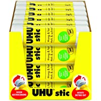 UHU Solvent Free Glue Stic 8g - Tray of 24, (33-00060_24)