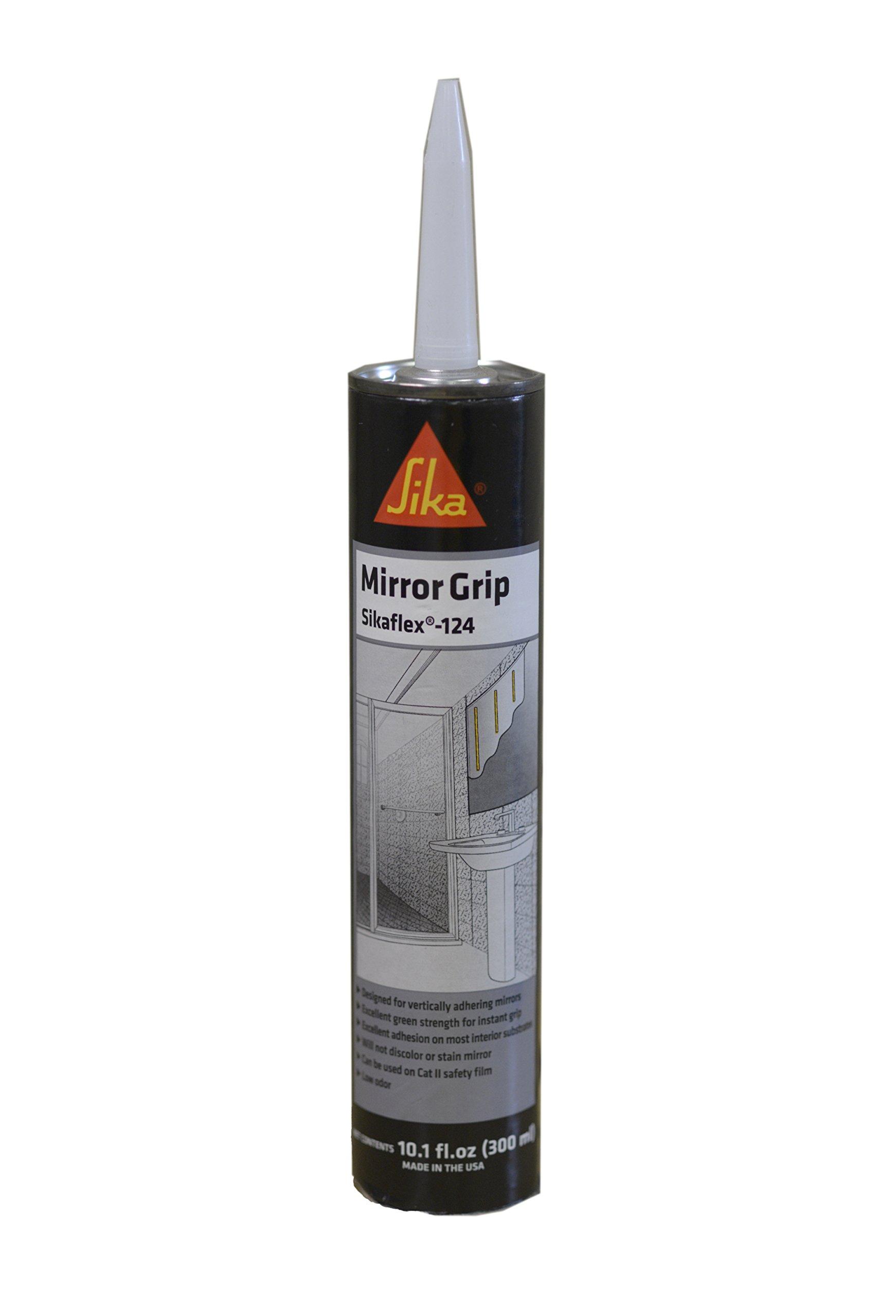 Sikaflex-124 Mirror Grip Gray Polyurethane Adhesive 10.1 fl. oz. Cartridge