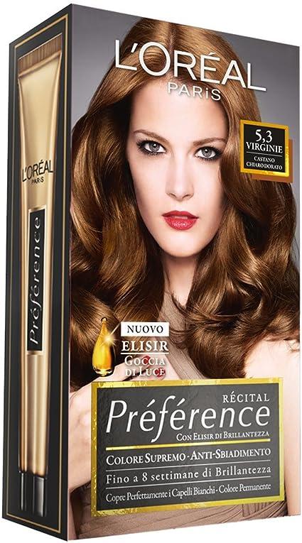 PREFERENCE 5,3 castano chiaro dorato - Tintes para el cabello ...