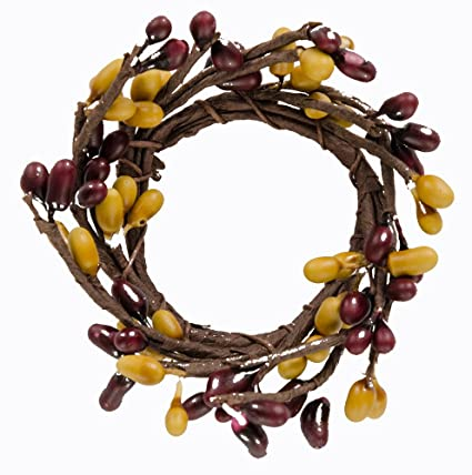 CWI Gifts 6-Piece Pip Berry Ring Set White FISB83600WHTA Mini