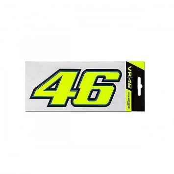 5de5d337fc VR46 Official Valentino Rossi Classic 46 Sticker - 46 Design  Amazon.co.uk   Car   Motorbike