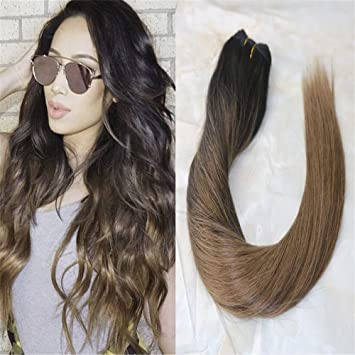 Amazoncom Hairdancing 14inch Hair Extensions Human Hair Balayage