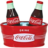 Westland Giftware Magnetic Ceramic Salt and Pepper Shaker Set, 4.5-Inch, Ice Cold Coca-Cola