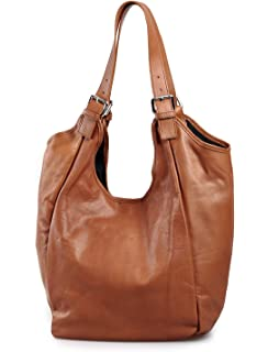 1ae2dc871de4e MIO Leder Shopper Beuteltasche oder Schultertasche für Damen freie Farbwahl  rot