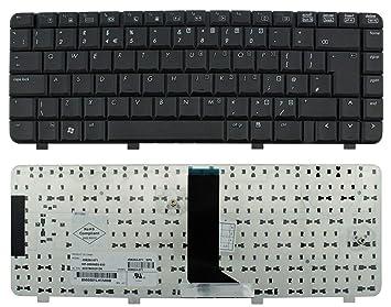 Laptopkey_eu - Teclado QWERTY para portátil HP Compaq 6520 6520s 6720 6720s 6520P 550 540 541 + Juego de Herramientas de Servicio, Color Negro: Amazon.es: ...