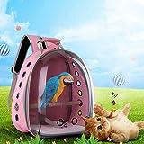 Hardli Pet Parrot Carrier, Bird Travel Bag,Space