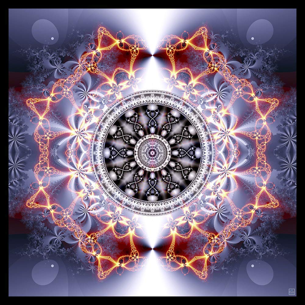 Activated Dna Mandala Tapestry Wall Hanging Shamanic Art Spiritual Psychedelic Art Sacred Geometry Visionary Psy Art Handmade