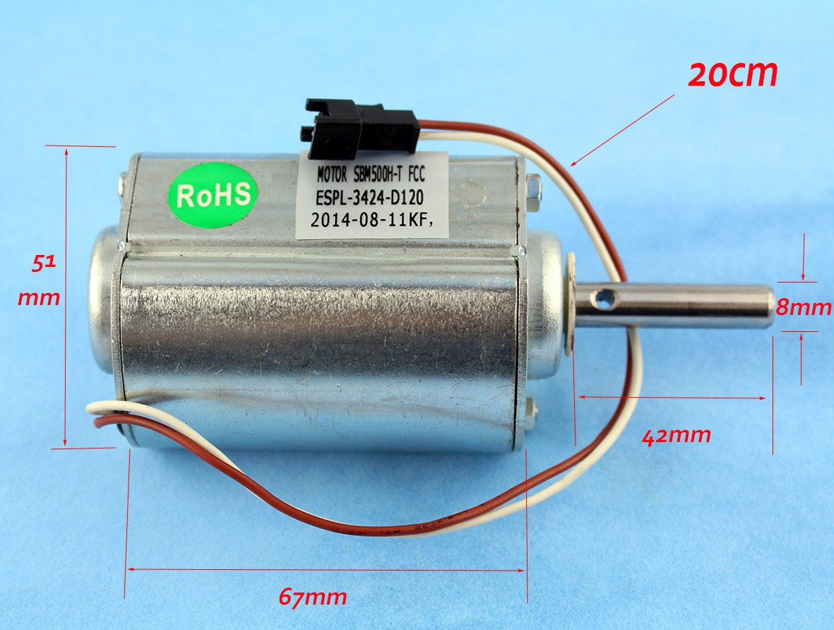Amazoncom Xa Dc 120v High Power Motor Generators Wind Turbines Making A Parallel Path Overunity Device Circuit Electronic 2500rpm 55w For Diy Automotive