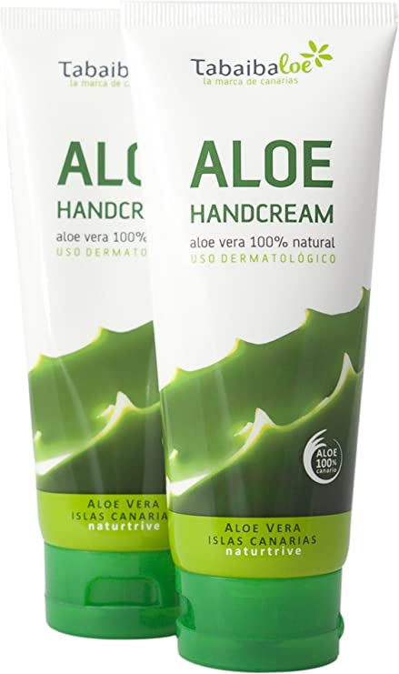 Crema de Manos Aloe Vera 100 ml Pack 2x1 Tabaibaloe: Amazon.es: Belleza