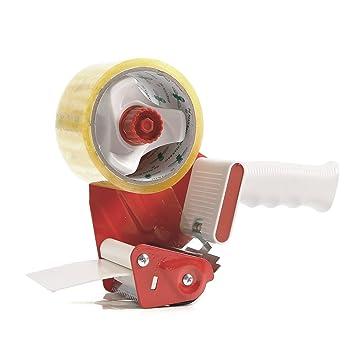 Caja resistente sellado paquetes cinta de embalaje dispensador pistola 50 mm (2 pulg.): Amazon.es: Oficina y papelería