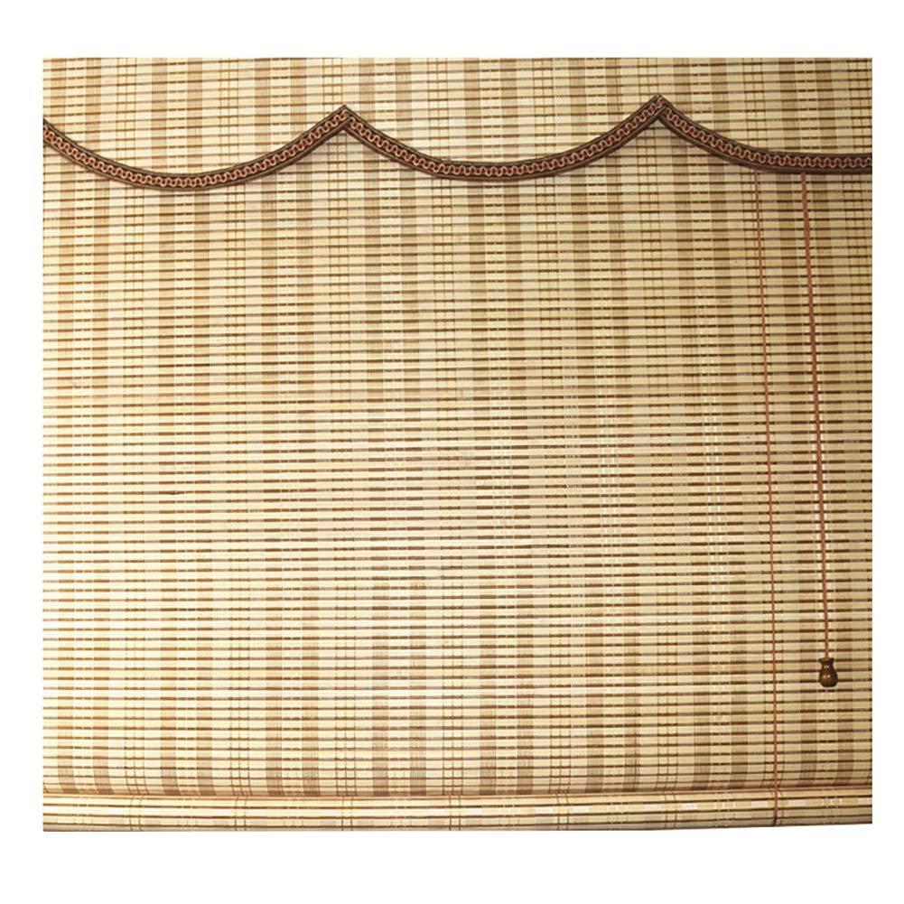 ブラインド 遮光竹ロールブラインド、遮光フィルタープライバシーカーテン - ウェーブバランス付き、スタジオ用、ティーハウス (色 : Takemoto color, サイズ さいず : 120×200cm) 120×200cm Takemoto color B07QFPVMX6