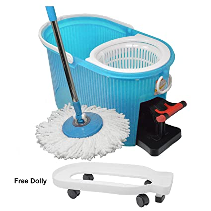 Magic Cleaning Erfahrung amazon com hurricane 360 spin mop by bulbhead with lightweight