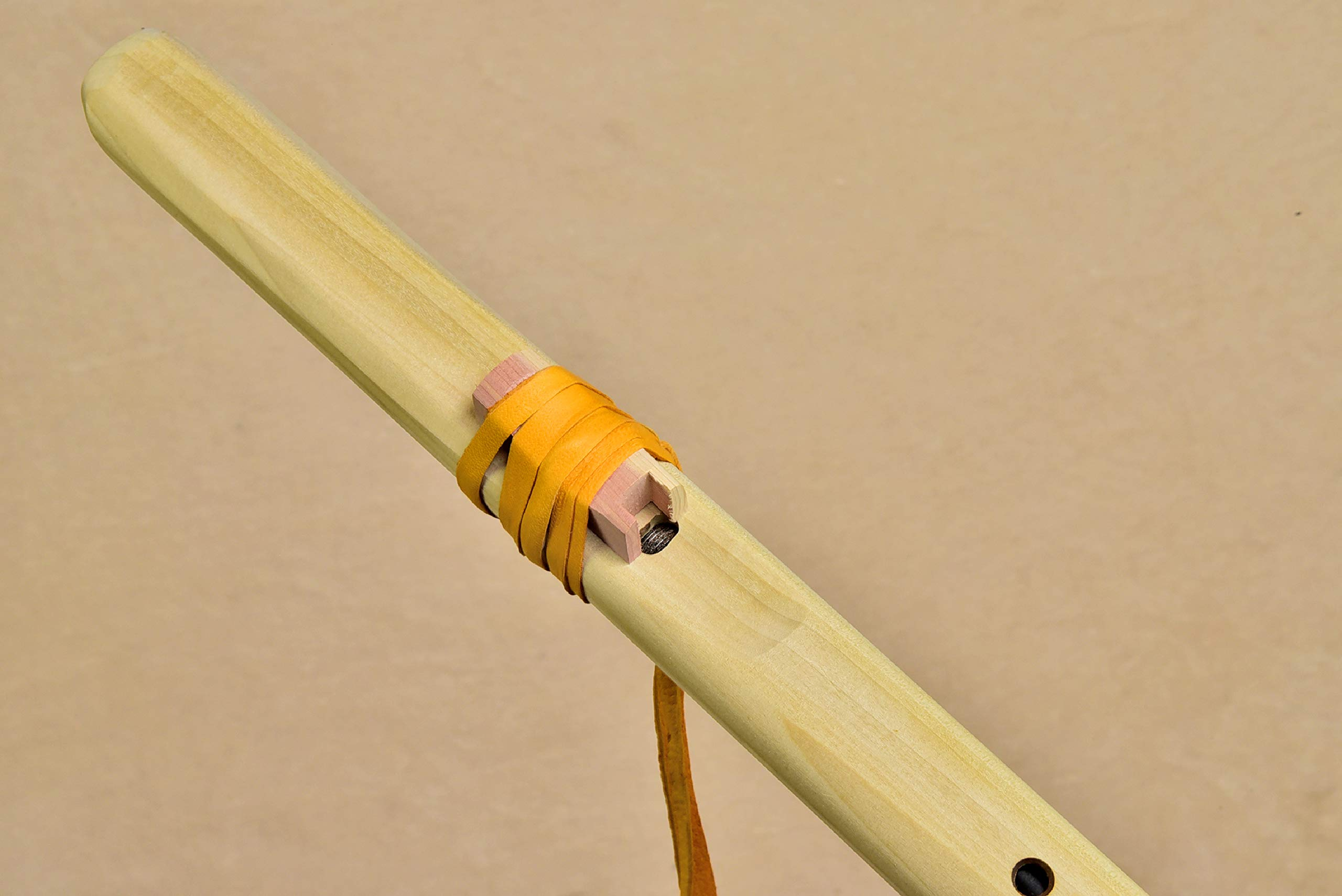 Windpony Unfinished Poplar Flute in the Key of G with Instruction Book by Windpony (Image #3)