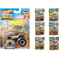 Hot Wheels FYJ44 Monster Trucks Selection of 1:64 Scale