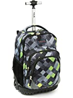 Tilami Rolling Backpack Armor Luggage School Travel Book Laptop 18 Inch Multifunction Wheeled Backpack for Students